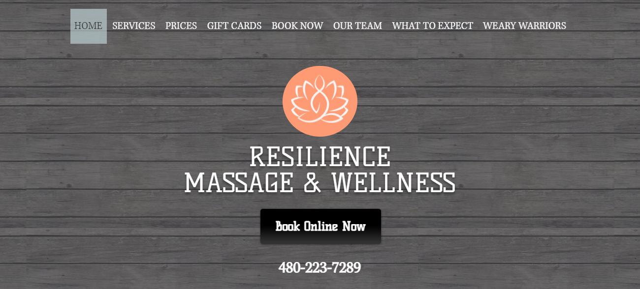 Resilience Massage & Wellness in Mesa, AZ