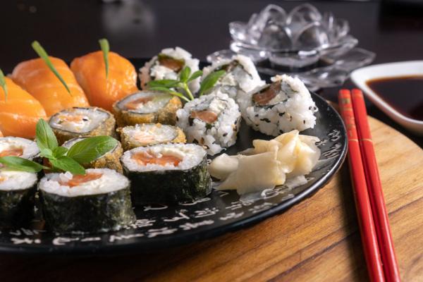 Sushi in Sacramento