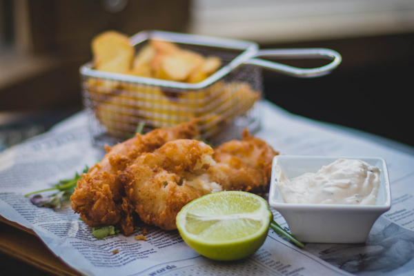 Fish and Chips in Oklahoma City