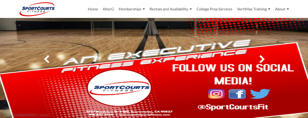 Sport Courts Fitness in Sacramento, CA