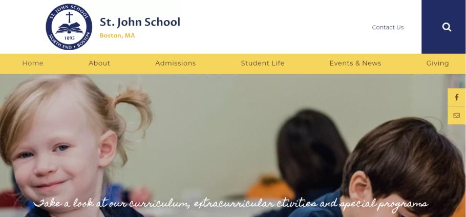 St. John School in Boston, MA