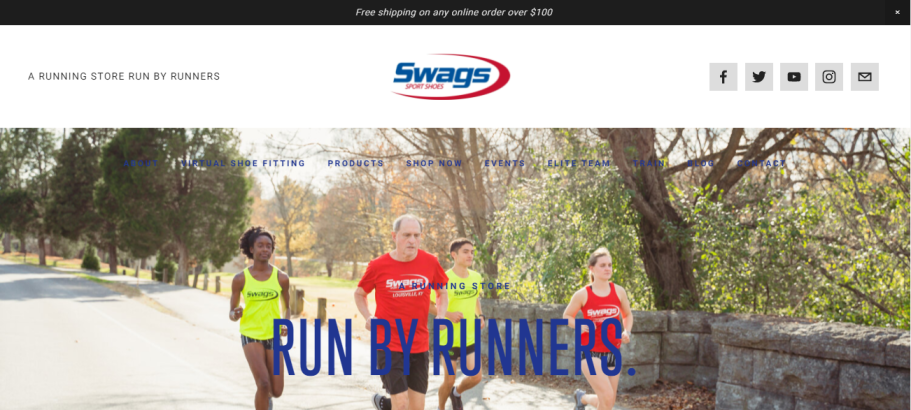 Swags Sport Shoes in Louisville, KY