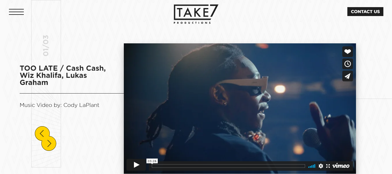 Take7 Productions in Milwaukee, WI