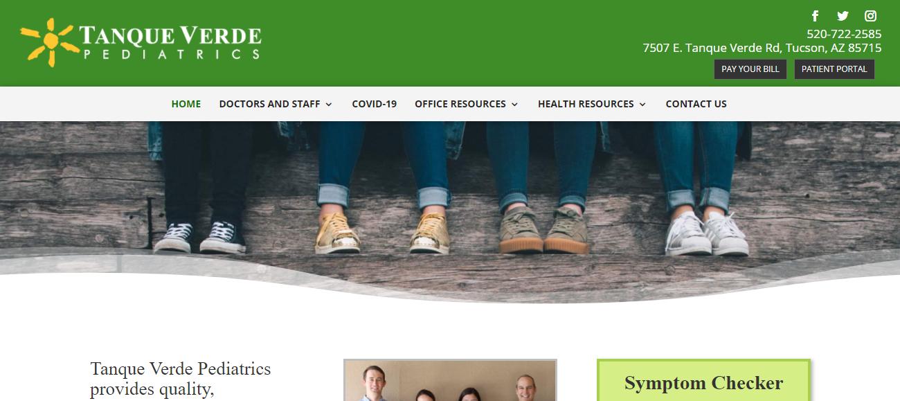 Tanque Verde Pediatrics in Tucson, AZ