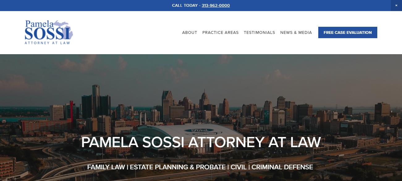 The Law Office of Pamela M. Sossi in Detroit, MI