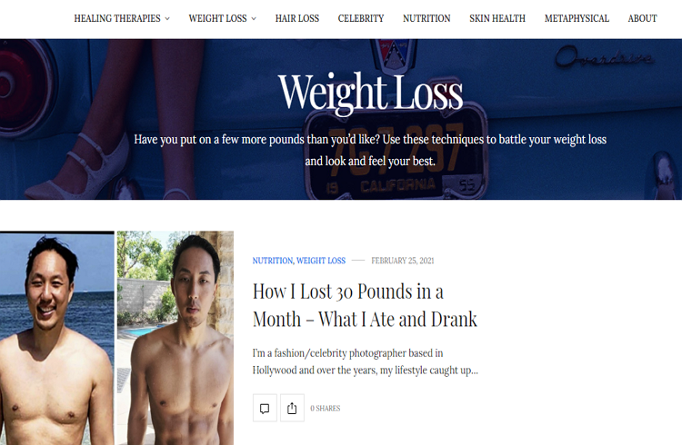 Top rated Weight Loss Blogs