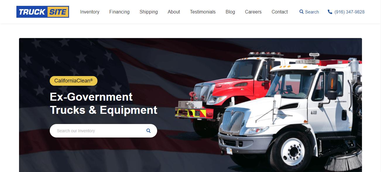 Truck Site in Sacramento, CA