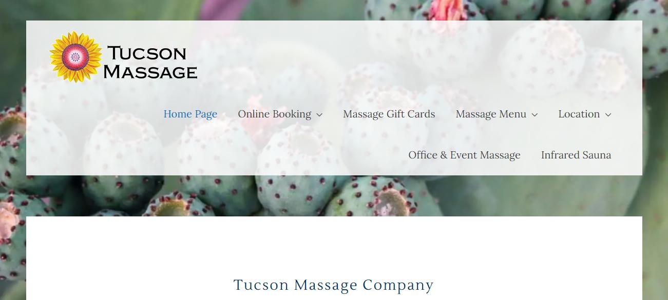 Tucson Massage Company in Tucson, AZ