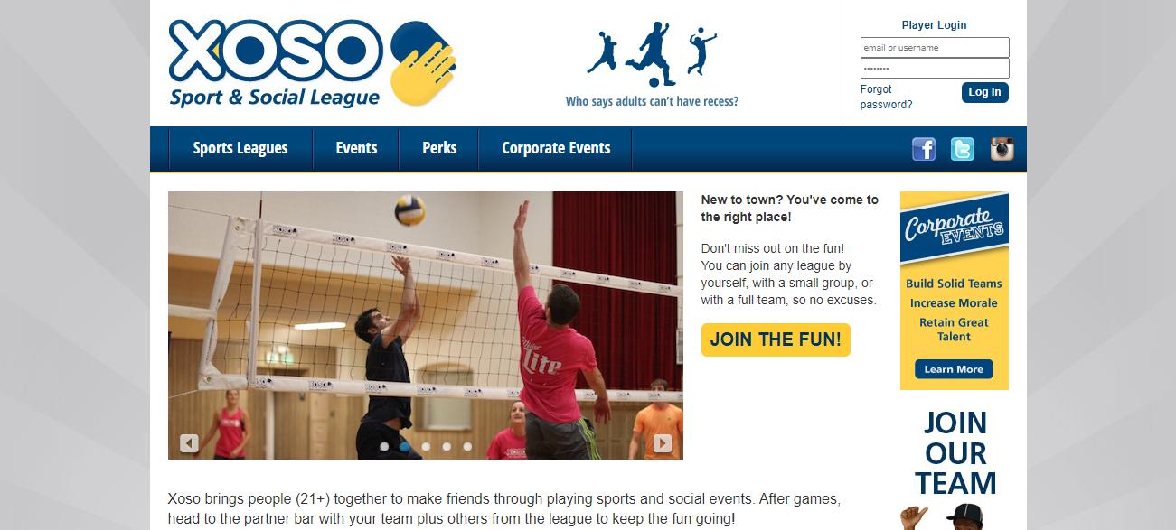 Xoso Sport & Social League in Sacramento, CA