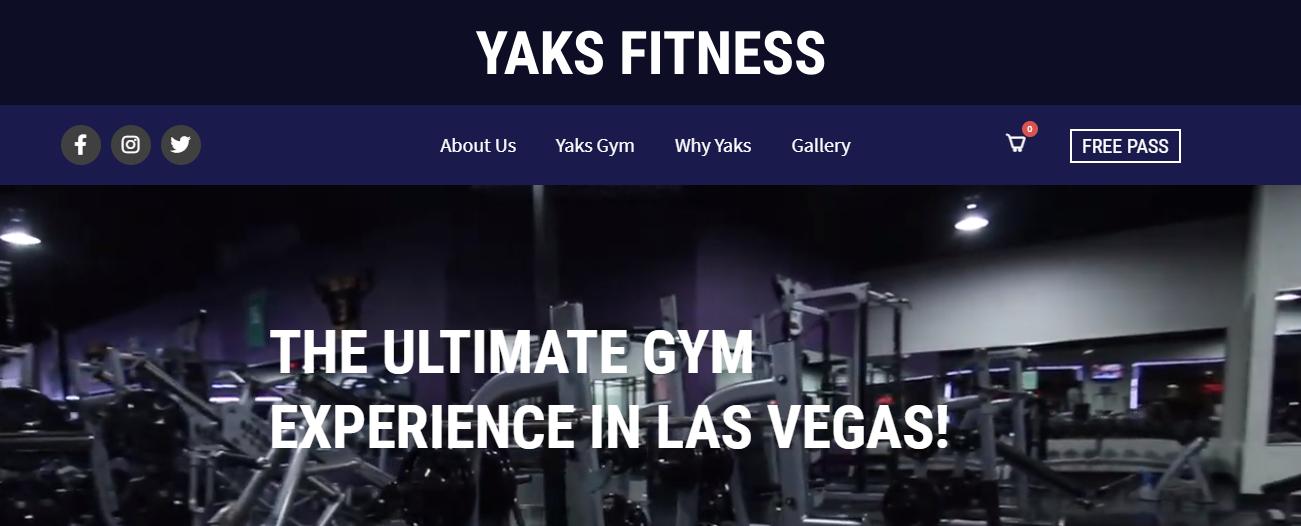 Yaks Fitness in Las Vegas, NV