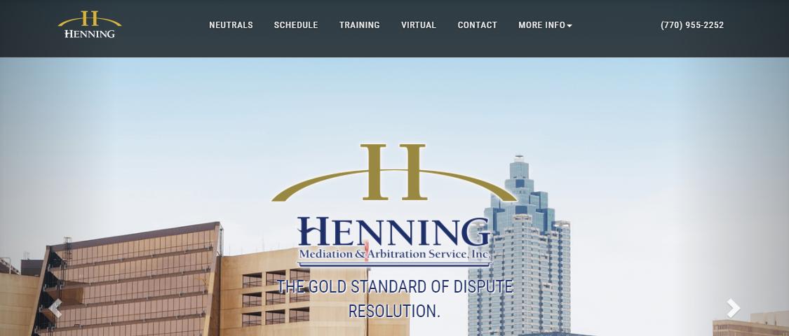 Henning Mediation and Arbitration Service, Inc.