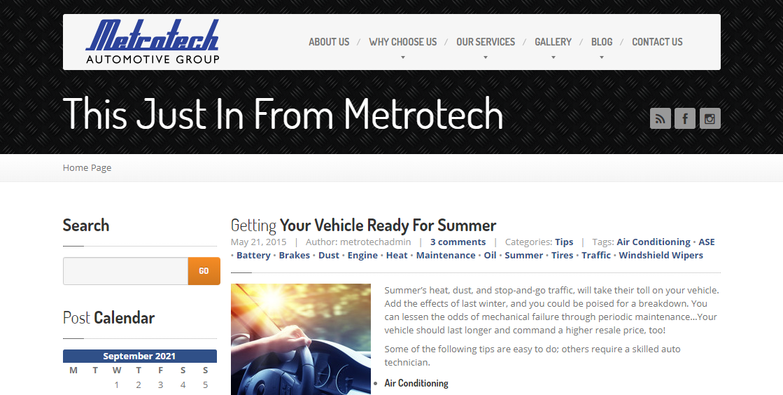 Metrotech Collision Auto Body Shops in Detroit, GA