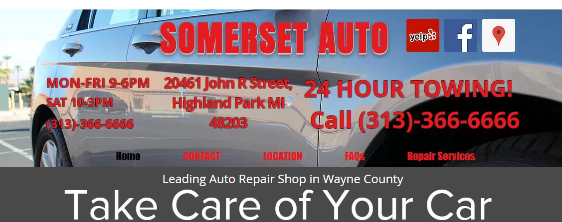 Somerset Auto Body Shop