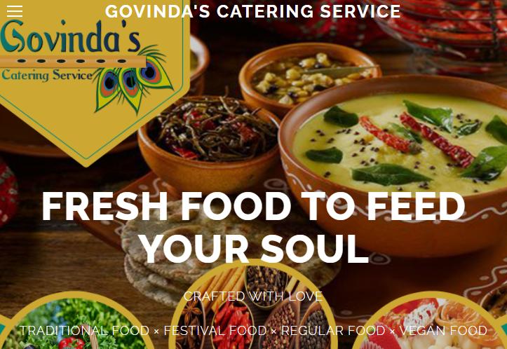 Govinda's Catering Service Detroit, MI