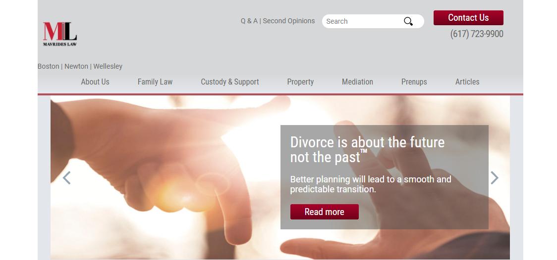 Mavrides Law Child Custody Attorneys in Boston, MA