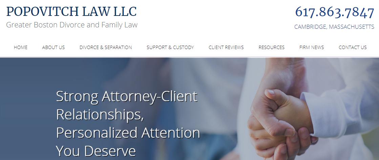 POPOVITCH LAW LLC Child Custody Attorneys in Boston, MA