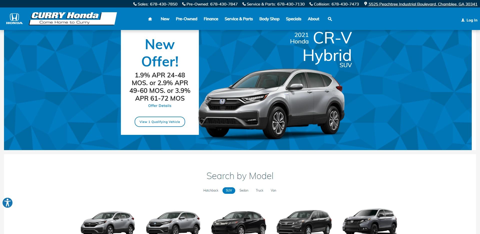 Best Honda Dealers in Atlanta, GA