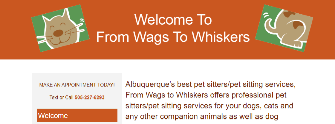 From Wags to Whiskers Dog Walkers in Albuquerque, NM