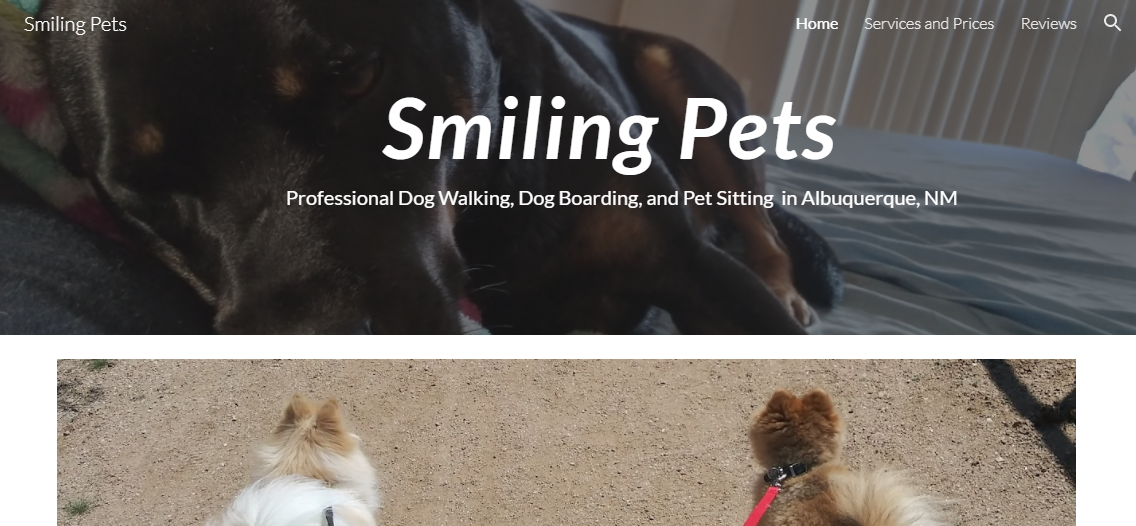 Smiling Pets Dog Walkers in Albuquerque, NM