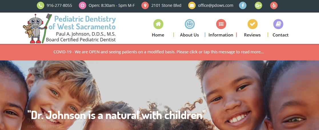 Pediatric Dentistry of West Sacramento