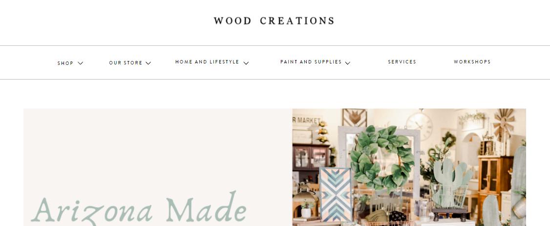 Wood Creations Furniture Mesa