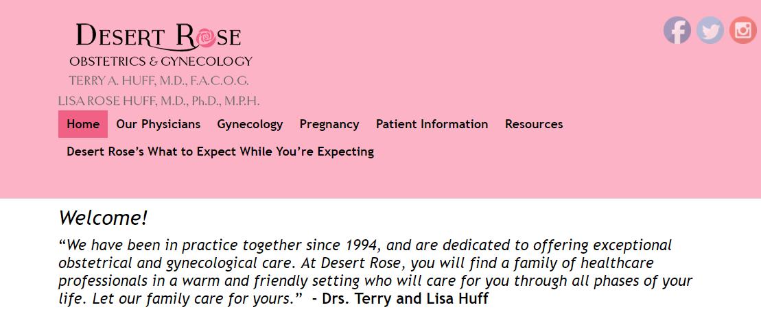 Desert Rose Obstetrics and Gynecology