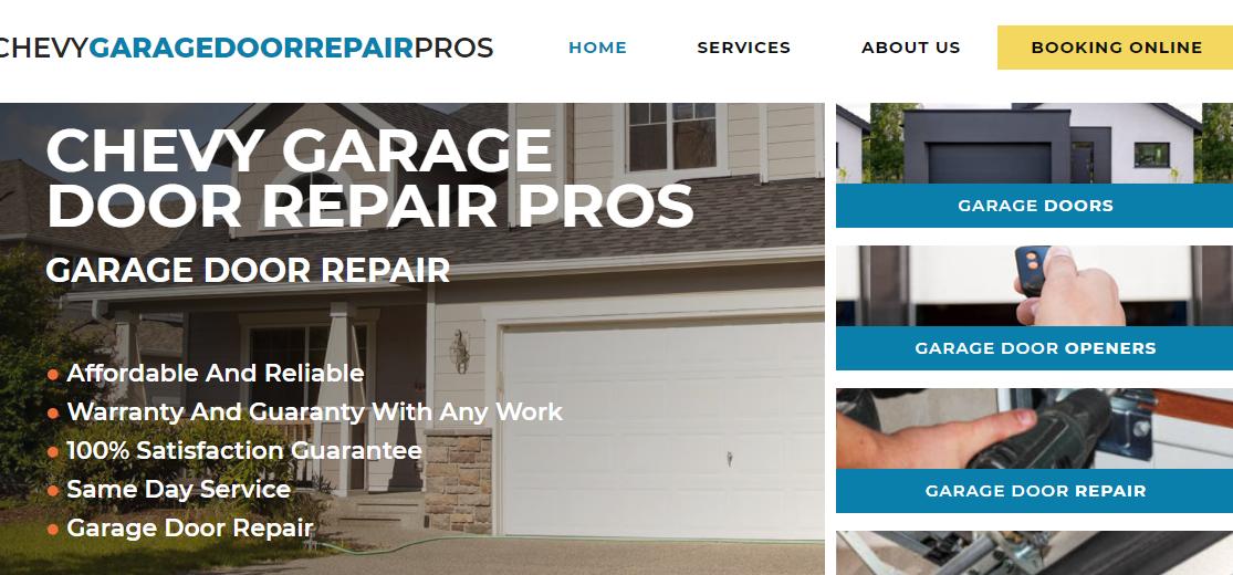 Chevy Garage Door Repair Pros