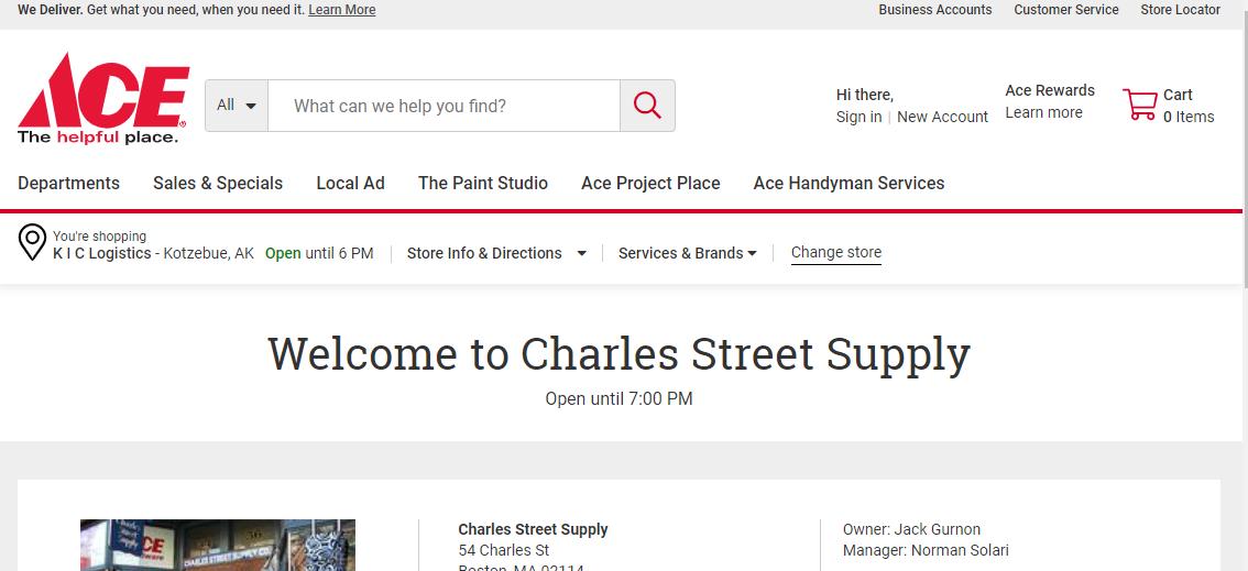 Charles Street Supply