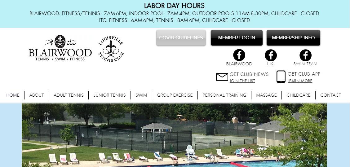 Blairwood Tennis, Swim, and Fitness Club