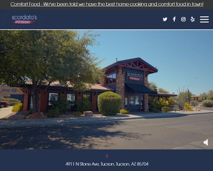 Scordato's Pizzeria Tucson, AZ