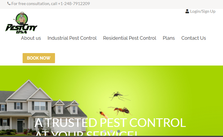 Pest City USA Pest Control Companies in Detroit, MI