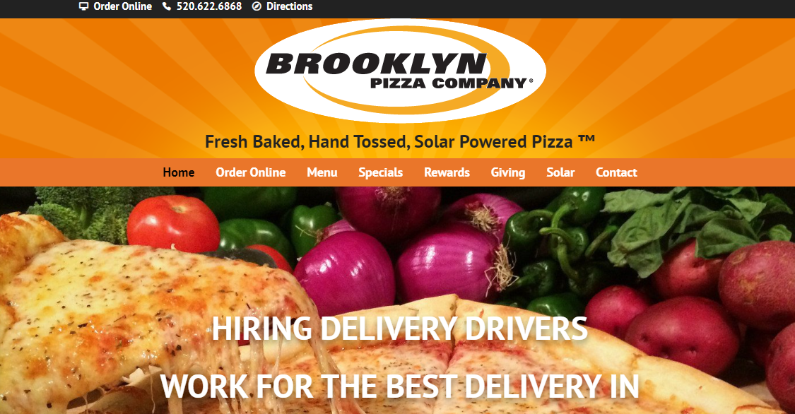 Brooklyn Pizza Company Tucson, AZ