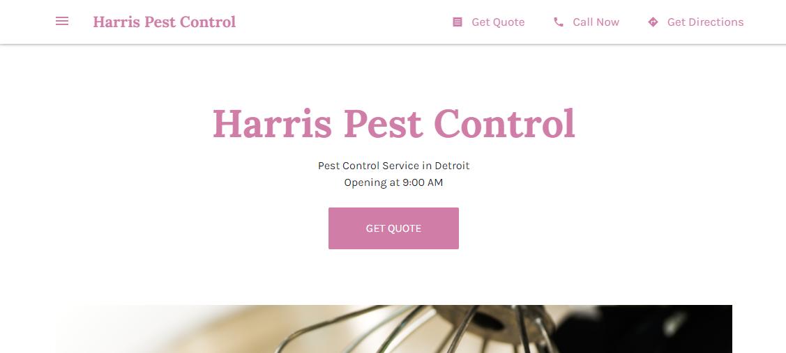 Harris Pest Control