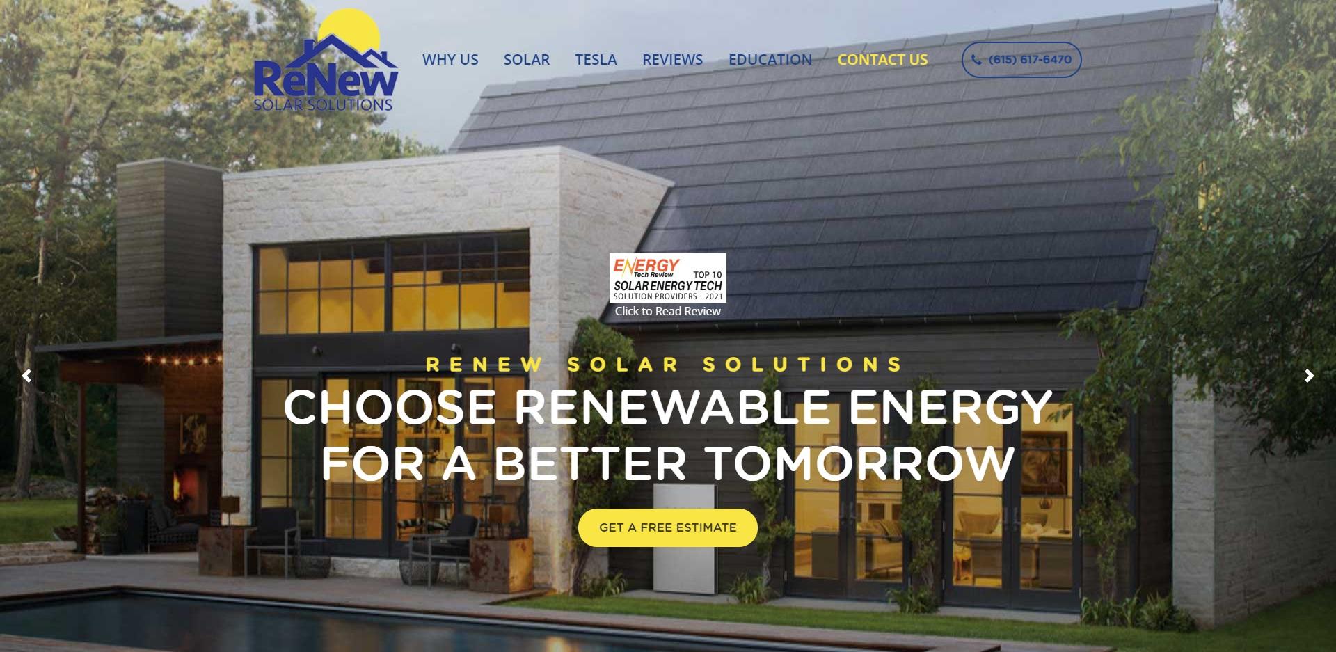 Best Solar Battery Installers in Nashville, TN