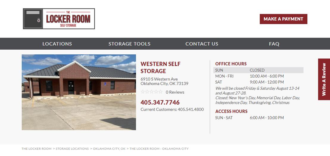 Western Self-Storage Oklahoma City, OK