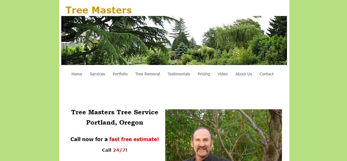 Tree Masters, Inc. Portland