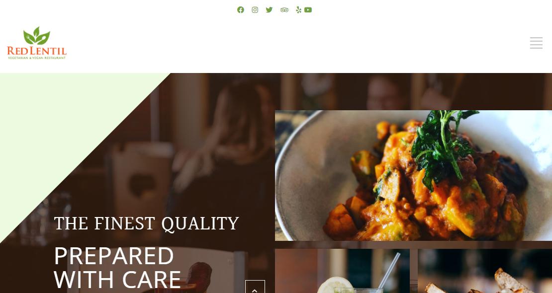 Red Lentil Vegetarian & Vegan Restaurant