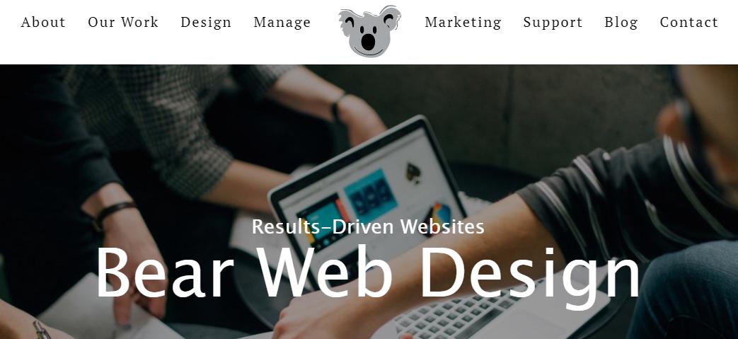 Bear Web Design Nashville, TN