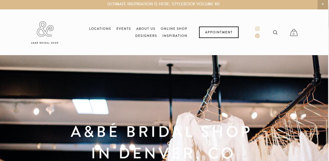 a&be Bridal Shop Denver