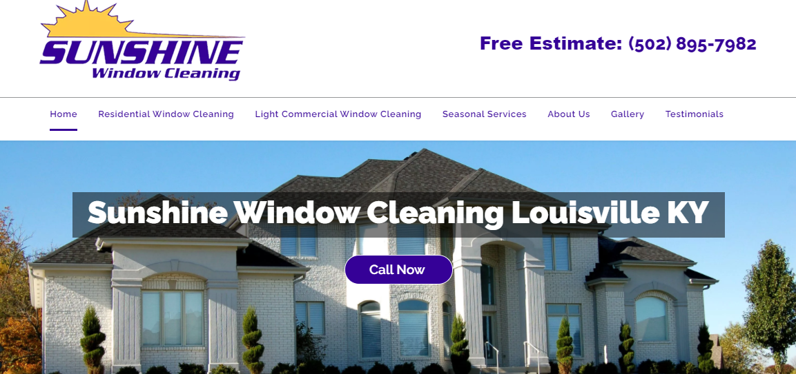 Sunshine Window Cleaning Company