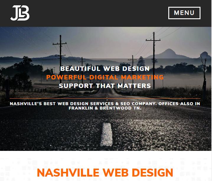 JLB Web Design + Marketing