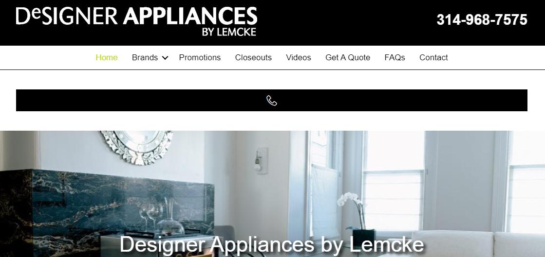 Designer Appliances by Lemcke