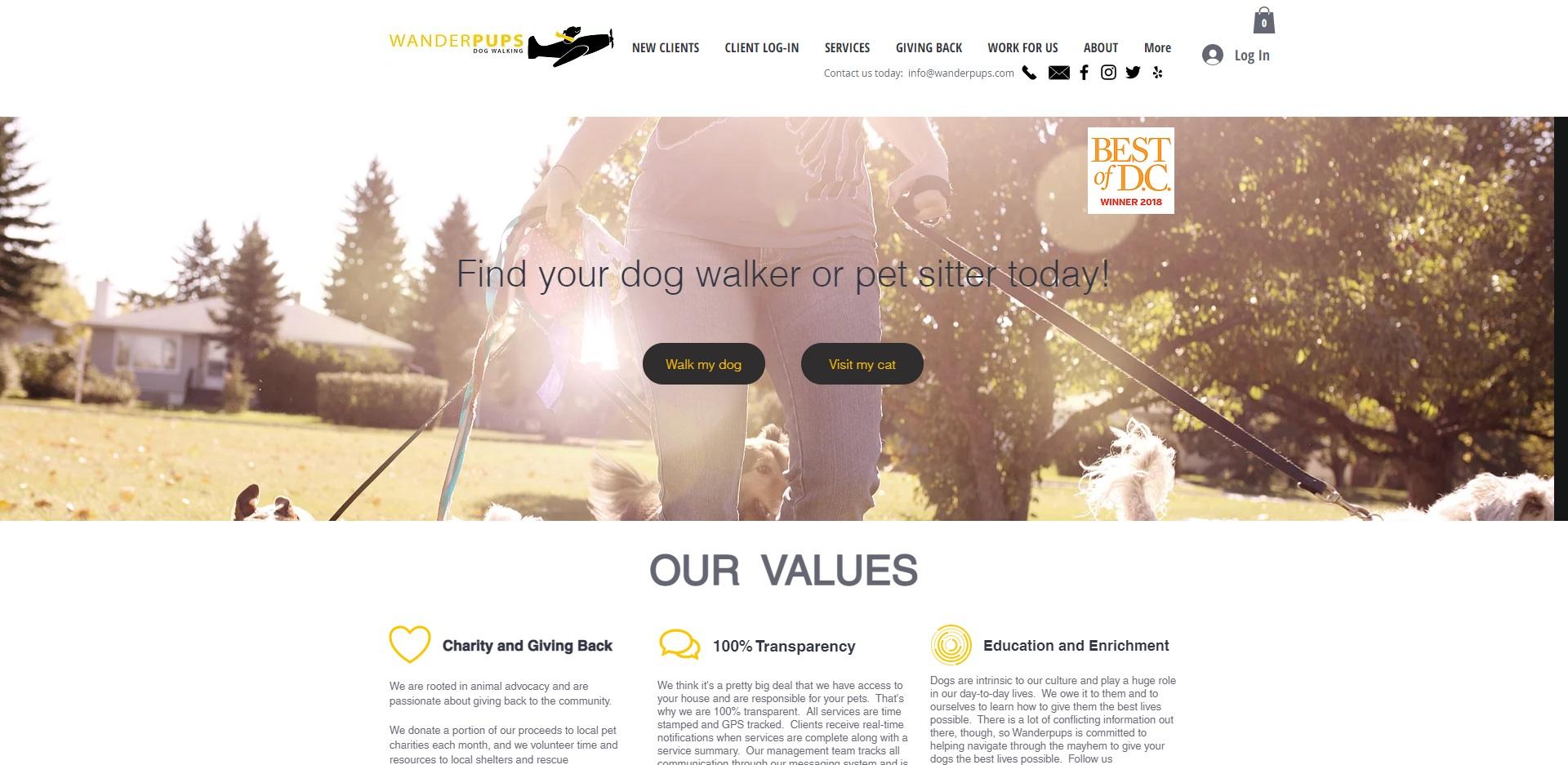 Best Dog Walkers in Washington, DC
