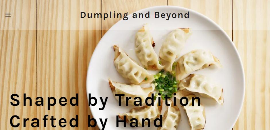 Tasty Dumplings in Washington