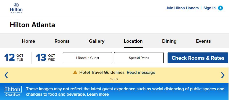 Popular Hotels in Atlanta
