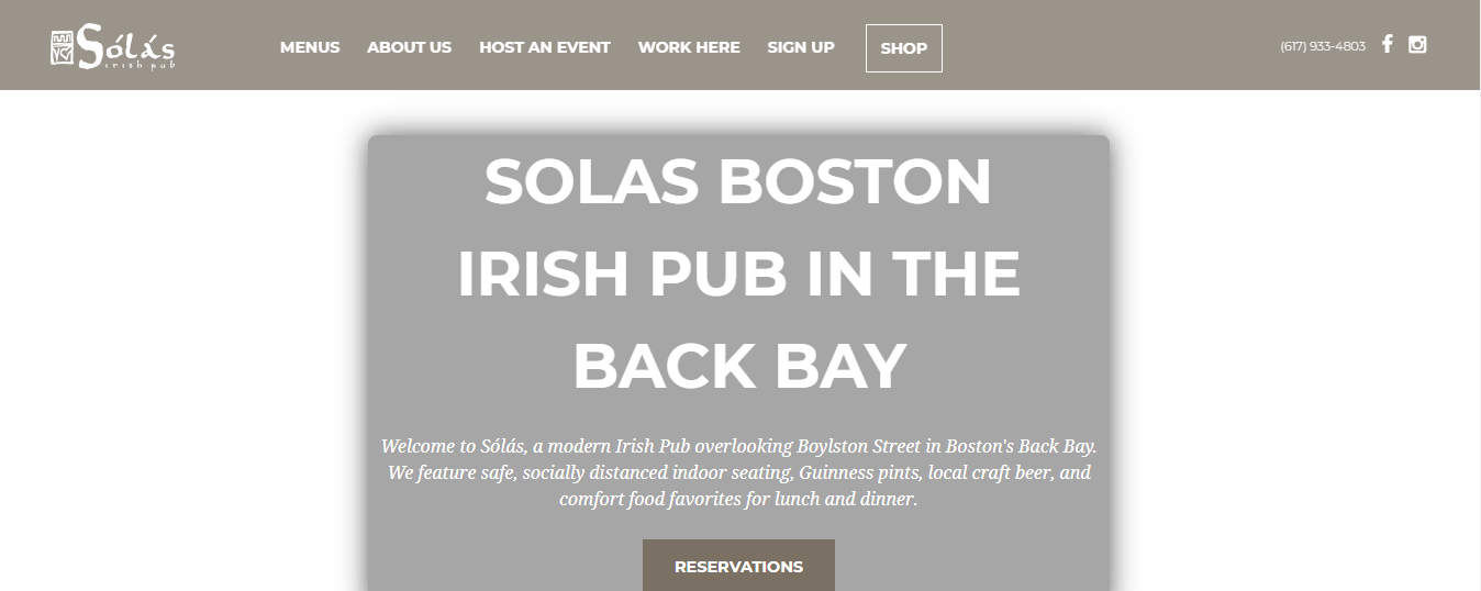 modern Pubs in Boston, MA