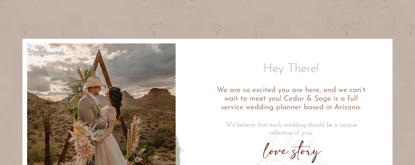 affordable Wedding Planners in Mesa, AZ