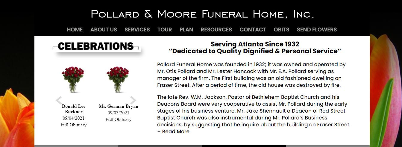honorable Funeral Homes in Atlanta, GA