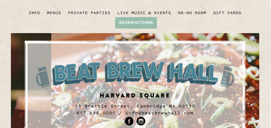Known Beer Halls in Boston