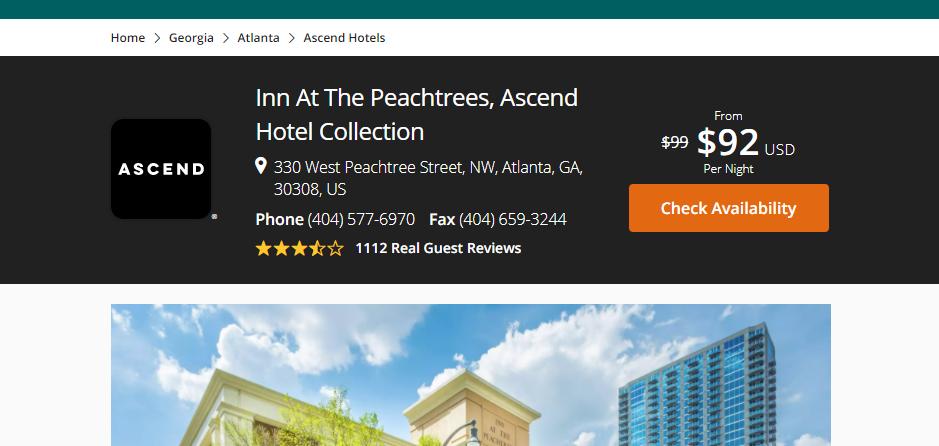 Preferable Hotels in Atlanta